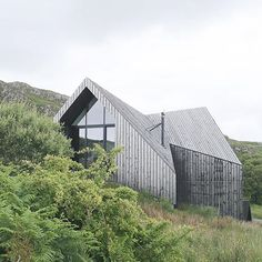 Hidden bad guy lair. #modern #modernist #design #designer #love #wood #home #house #minimal #minimalist #minimalism #architecture #architect #exterior #interiordesign #interior #mountains #outdoors