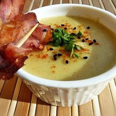 Bacon, Curry, Cheeseburger Chowder, Soup, Curries, Soups, Pork Belly
