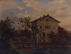 Haus Carus in Pillnitz, 1852, Carl Gustav Carus