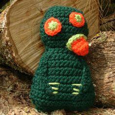 Crocheted Hei Tiki