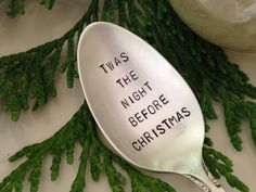 Recycled Silverware Christmas Spoon Hand by BellaJacksonStudios, $14.95