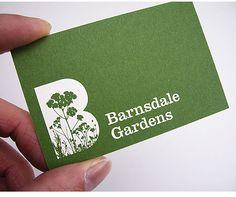 garden design business cards - Google Search