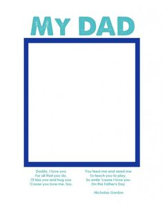 Free Fathers Day Printable