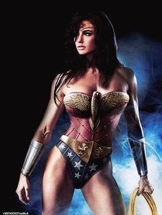 Gal Gadot as Wonder Woman - Jeff Chapman