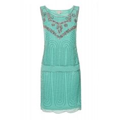 Deco Sequin Shift Mint