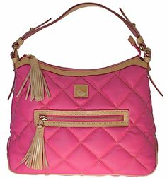 Dooney & Bourke Quilted Spicy Fabric Sac, Hot Pink