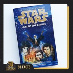 """Lucasfilm on Instagram: """"The Legends novel """"Star Wars: Heir to the Empire"""" by Timothy Zahn was published 30 years ago in 1991. During a time when it was unclear if…"""" Timothy Zahn, The Heirs, 30 Years, Empire, Novels, Star Wars, Let It Be, Starwars, Fiction"""