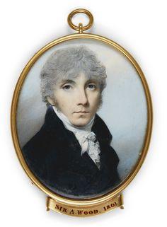 George Engleheart  PORTRAIT OF SIR ALEXANDER WOOD, K.C.M.G. (D. 1847)