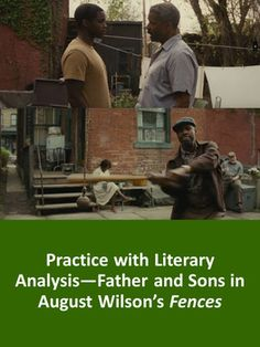 Fathers and Sons in Fences by August Wilson: Practice with Literary Analysis Ap English, English Language, Language Arts, Negro League Baseball, Baseball Players, Fences By August Wilson, Apa Format Research Paper, High School English, African Americans