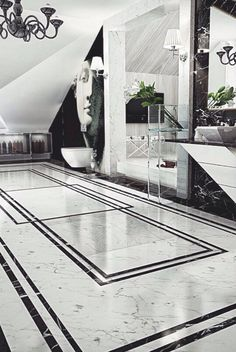 Ultra Luxury Bathroom Inspiration - Fox Home Design Floor Design, Ceiling Design, Tile Design, House Design, Bath Design, Marble Design Floor, Bathroom Design Luxury, Bathroom Interior, White Bathroom