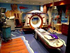 Sala de TC pediatrica