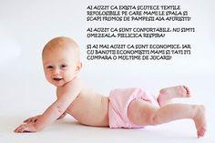 Vrei un scutecel sanatos, confortabil si economic pentru bebelusul tau?