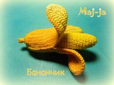 Мастер-класс вязаный бананчик