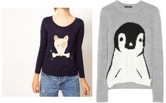 The Fashionable ESQ Miami Lawyer Miami Fashion Blogger Personal Style Blog: Animal Caricature Sweaters: J.Crew French Hen Sweater