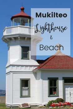 Stopping at Mukilteo Lighthouse and Beach was such a nice relaxing break after during our road trip from Utah to Washington state.