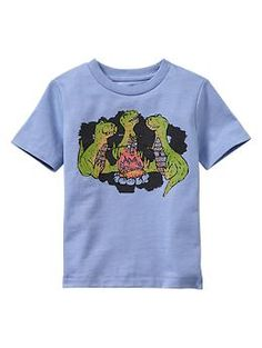 Graphic crewneck T | Gap...just got this for M this weekend, so cute!