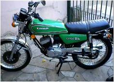 Kawasaki KH 100. This was my first bike, but mine was a beautiful blue. Still wish I'd kept it.
