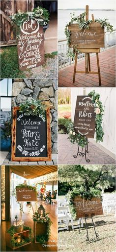 20 Greenery Rustic Wooden Welcome Wedding Signs Rustic eucalyptus wedding signs Star Wedding, Diy Wedding, Rustic Wedding, Wedding Flowers, Dream Wedding, Wedding Day, Wedding Greenery, Wedding Vows, Wedding Season
