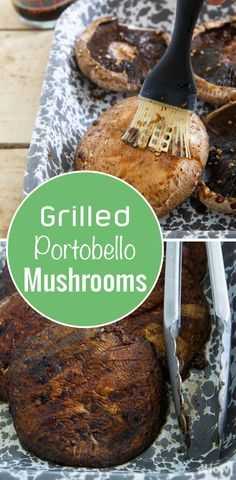Grilled portobello mushrooms are perfect for summer! Use them as veggie patties or buns! Recipe here: http://www.ehow.com/how_13471_grill-marinated-portobello.html?utm_source=pinterest.com&utm_medium=referral&utm_content=freestyle&utm_campaign=fanpage
