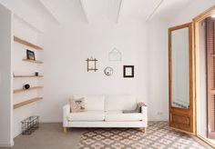 Marzua: 53 m² de espacios amplios y aspecto natural