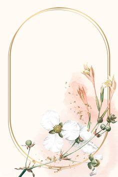 Flower Background Wallpaper, Framed Wallpaper, Beige Background, Flower Backgrounds, Background Patterns, Wallpaper Backgrounds, Pink Glitter Background, Watercolor Wallpaper, Watercolor Flowers