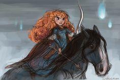 Brave - Merida: disney, princess