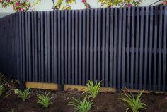Image result for vertical louvre slat fence