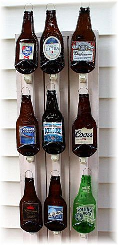 Beer Bottle Nite Lites by StuffbyPatty on Etsy, $8.00