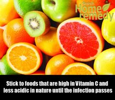 Foods Rich in Vitamin C #ColdSoreRemedies