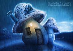 Mushroom: (By: SXC) Door:[link] Window:[link] Landscape 01: Landscape 02: Sky: ORIGINAL DRAWING: ~ Thanks: Like my FanPage (Please !)