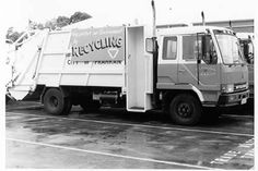 PH A Prahran Council-owned truck for the collection of recyclable rubbish; Garbage Collection, Public Health, Old Photos, Truck, Old Pictures, Vintage Photos, Old Photographs, Trucks