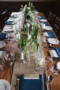 A+Rustic+Nautical+Vermont+Wedding+via+TheELD.com