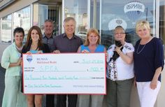 Raising $1422 for our local SPCA!!!  Way to ROCK RE/MAX!