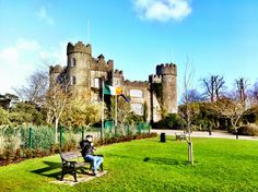 Not only is it by the sea, the jewel of #Malahide is the #medieval #castle that's over 800 years old! #loveDublin Find out more about Malahide Castle here: http://www.visitdublin.com/dublin-a-to-z/details/malahide-castle-and-gardens/48888/