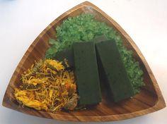 Cómo hacer jabón de algas marinas.