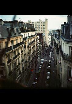 Parisian chronicle on Behance