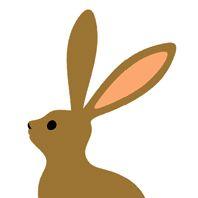 初期のウサギ。無印良品のオリジナルに手を加えてます。