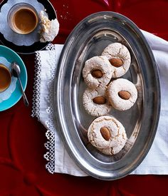 Australian Gourmet Traveller Spanish biscuit recipe for almendrados.