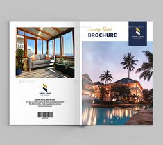 Luxury Hotel Brochure By Xtratimebd On Graphicriver Template This Can Be Used For Resort Restaurants Travel Or Any