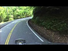 Tail of the Dragon - Helmet cam video of 11 miles and 318 curves on Highway 129 in Deals Gap NC. Warning- Take your Dramamine for motion sickness before viewing. Lots of fun curves documented.