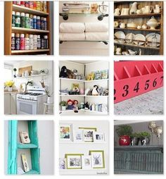 Fabulous Shelving Ideas!!