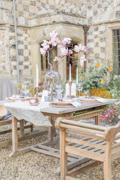 A Fine-Art Inspired Wedding Editorial With Magnolia & Cherry Blossoms Bridal Shoot, Wedding Shoot, Unique Weddings, Real Weddings, Ethereal Wedding, Industrial Wedding, Wedding Inspiration, Wedding Ideas, Garden Wedding