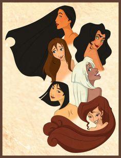 the disney non-princesses :)