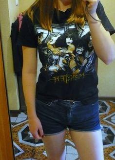Kup mój przedmiot na #vintedpl http://www.vinted.pl/odziez-meska/koszulki-z-krotkim-rekawem-t-shirty/14007252-czarna-meska-koszulka-kiss-rozmiar-s