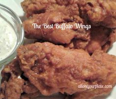 Buffalo Wings   All On Your Plate