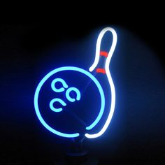 Shine brighter with our Bowling Neon Sculpture! Each of our stand up Neon Lights will fill your home or business with a fun and stylish flare. Funky Decor, Neon Design, Neon Aesthetic, Neon Glow, Bar Signs, Neon Lighting, Light Art, Neon Colors, Vintage Signs