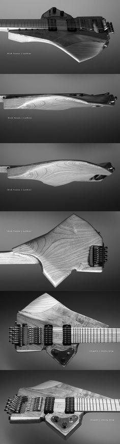 Very futuristic guitar