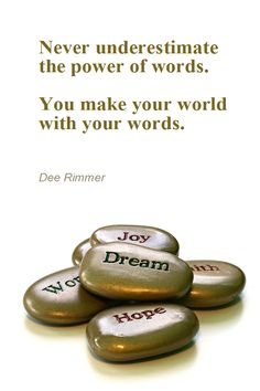 Power of Words : Empowering Quotes