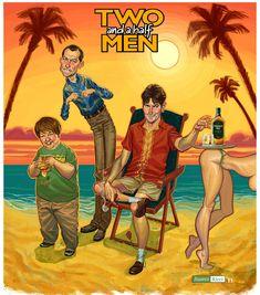TWO and a half MEN  FOLLOW THIS BOARD FOR GREAT CARICATURES OR ANY OF OUR OTHER CARICATURE BOARDS. WE HAVE A FEW SEPERATED BY THINGS LIKE ACTORS, MUSICIANS, POLITICS. SPORTS AND MORE...CHECK 'EM OUT!! Anthony Contorno Sr