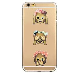 Baby Toy Gift Sets - iPhone 6 Case Nurbo 2016 New Hot Transparent Clear TPU Emoji Cover for iPhone 6s Regular 47 Inch H ** For more information, visit image link.